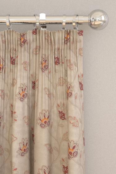 Prestigious La Rochelle Paprika Curtains - Product code: 3504/328
