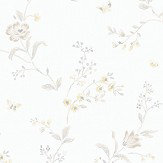 Boråstapeter Viktoria  Taupe, Yellow & Ivory Wallpaper - Product code: 5482