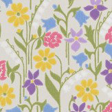 Sandberg Juniflora Beige/Brown Wallpaper