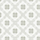 Boråstapeter Josefina Green Wallpaper