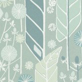 Sandberg Senecio Green/White Wallpaper - Product code: 421-38