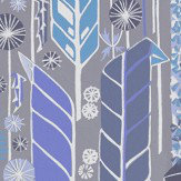 Sandberg Senecio Blue/Grey Wallpaper - Product code: 421-66