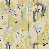 Sandberg Tistlar Yellow/Blue Wallpaper - Product code: 422-32