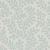 Colefax and Fowler Rushmere Old Blue Wallpaper