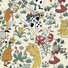 House Of Hackney Alice In Wonderland Cream Mural