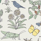 House Of Hackney Voysey's Garden Off White Mural