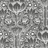 Engblad & Co Rosegarden Black & White Wallpaper - Product code: 6087