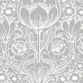 Eco Wallpaper Rosegarden Grey Wallpaper