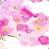bluebellgray Fumiko Pink and White Wallpaper