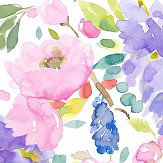 bluebellgray Wisteria (Set of 2 Rolls) Pinks and Purples Wallpaper