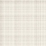 Eco Wallpaper Large Checked Tweed White Wallpaper