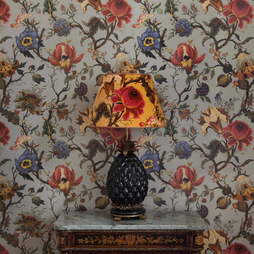 Artemis by House Of Hackney - Dove Grey : Wallpaper Direct