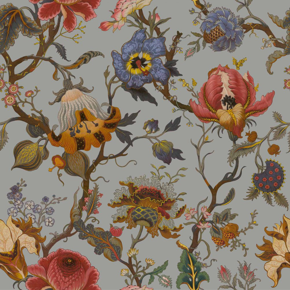 Artemis By House Of Hackney Dove Grey Wallpaper Direct