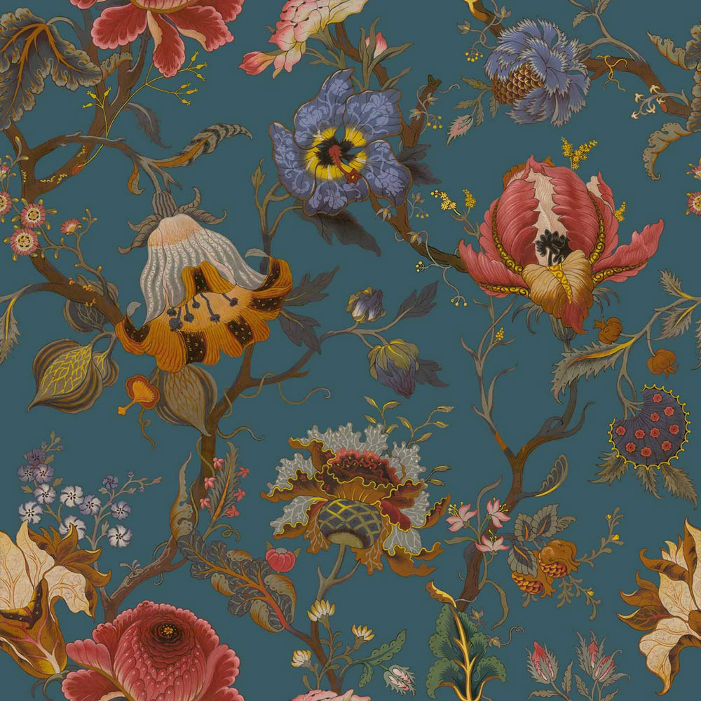 Artemis By House Of Hackney Petrol Wallpaper Direct