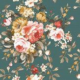 Clarke & Clarke Emeline Jade Wallpaper