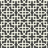 Clarke & Clarke Monserrat Ebony Wallpaper - Product code: W0084/02