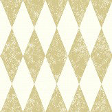 Clarke & Clarke Tortola Gold Wallpaper