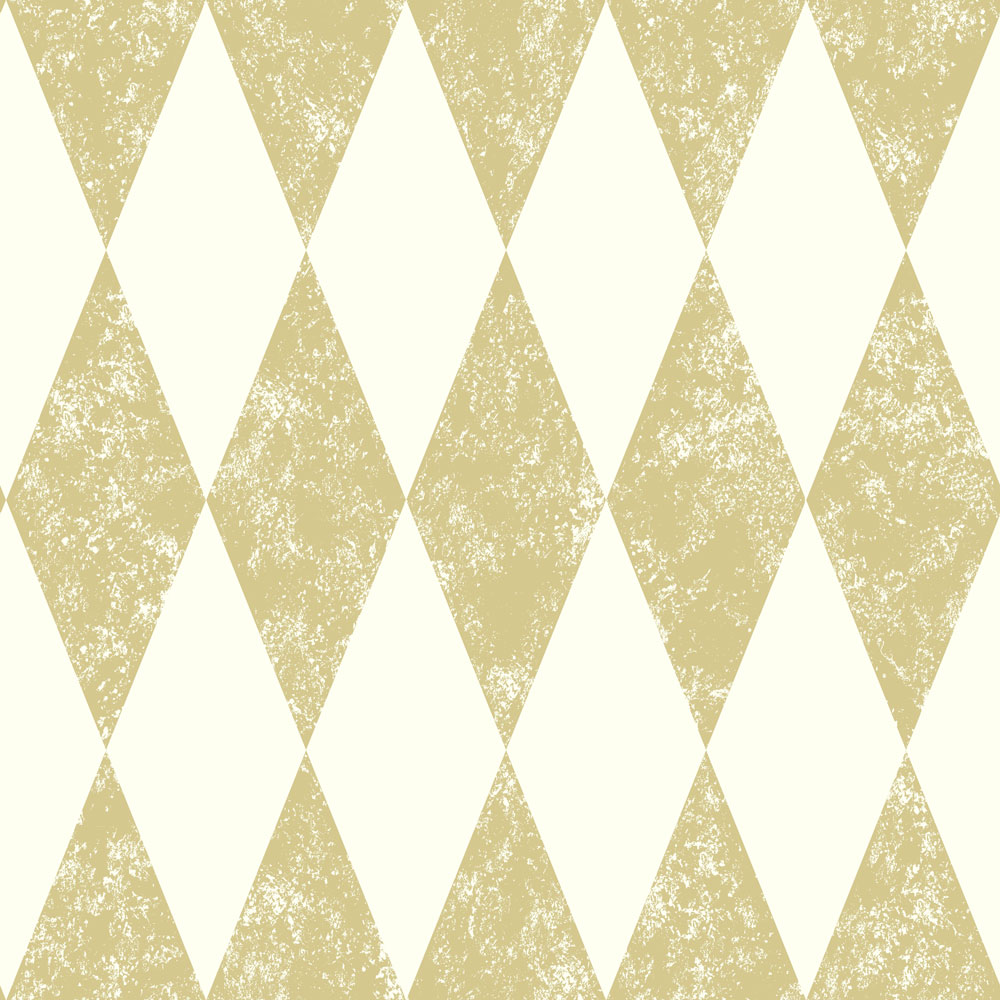 Clarke & Clarke Tortola Gold Wallpaper - Product code: W0087/02