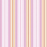 Eco Wallpaper Candy Stripe Pink Wallpaper