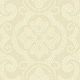 Today Interiors Damask Cream Wallpaper