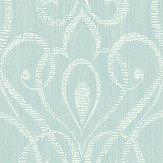 Today Interiors Heart Trail Blue Wallpaper