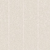 Eco Wallpaper Tweed Stripe Beige Wallpaper