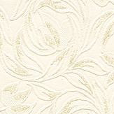 Albany Carlotta Texture White / Gold Wallpaper
