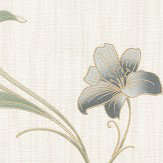 Albany Monaco Floral Trail Charcoal Wallpaper