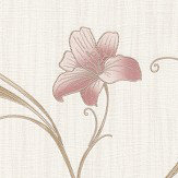 Albany Monaco Floral Trail Pink Wallpaper