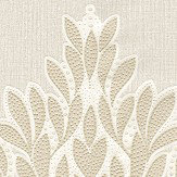 Albany Jewel Motif Natural Wallpaper