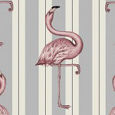 House Of Hackney Flamboyance Off White / Lavender Mural