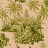 House Of Hackney Sumatra Blush / Pear Green Mural