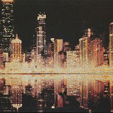 Arthouse Glitter City Gold Art - Product code: 004020