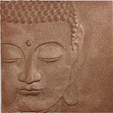 Arthouse Buddha Copper Glitter Art