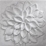 Arthouse Dahlia Silver Glitter Art - Product code: 004300