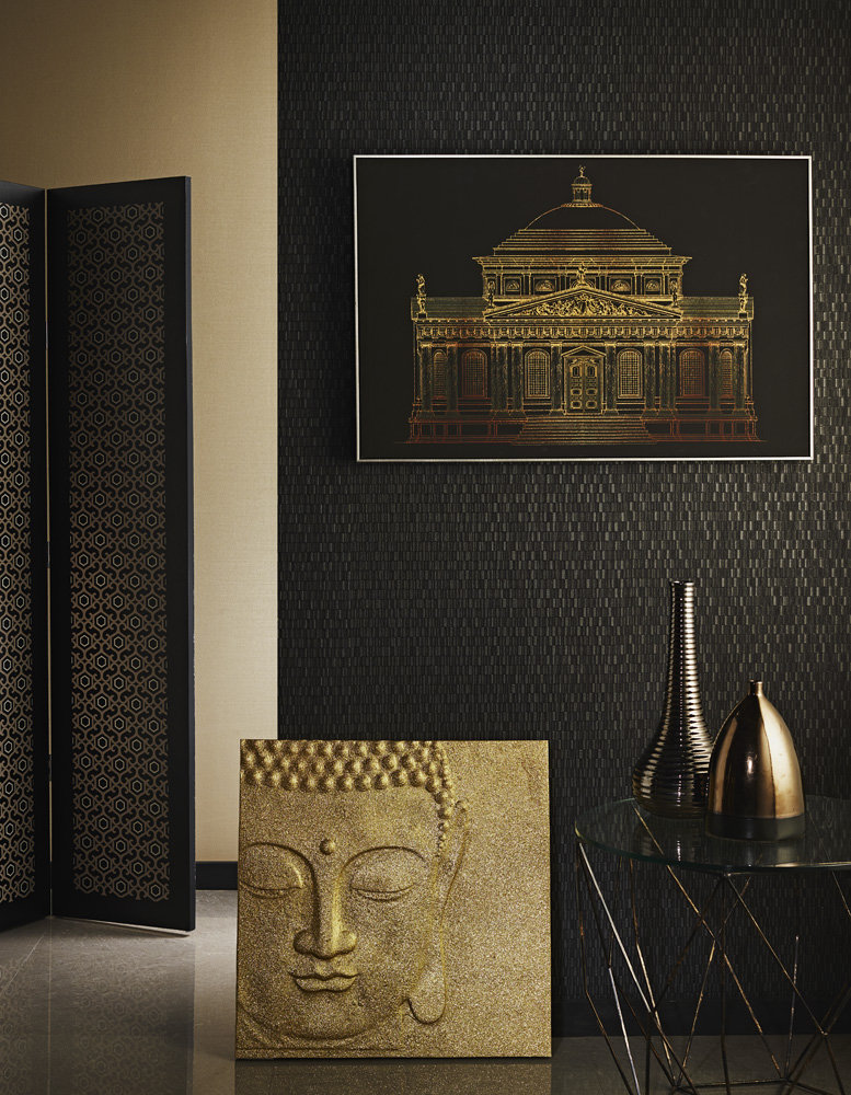 Arthouse Architectural Gold Art - Product code: 004317