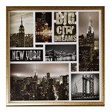 Arthouse Big City Dream Montage Sepia Art - Product code: 004318
