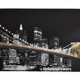 Arthouse Glitz City Gold Art - Product code: 004319