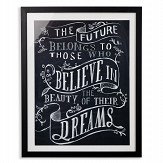 Arthouse Believe Black / White Art - Product code: 004320