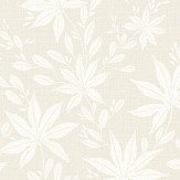 Eco Wallpaper Maple Leaf Ivory Wallpaper