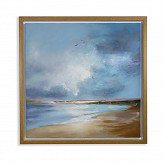 Arthouse Painted Seascape Blue Art