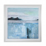 Arthouse Abstract Seascape Blue Art