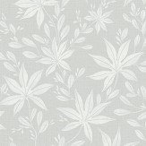 Eco Wallpaper Maple Leaf Pale Grey Green Wallpaper