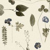 Eco Wallpaper Botanica Blue & Grey Wallpaper