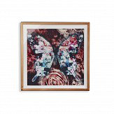 Arthouse Nocturnal Butterfly Red  Art