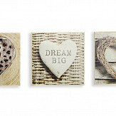 Arthouse Rustic Hearts Set of 3