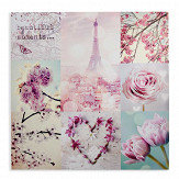 Arthouse Paris In Spring Pink Art