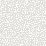 Eco Wallpaper Bellis Pale Grey Wallpaper