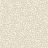 Eco Wallpaper Bellis  Pale Beige Wallpaper