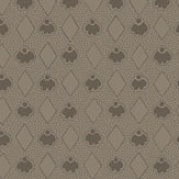 Eco Wallpaper Diamond Brown Wallpaper
